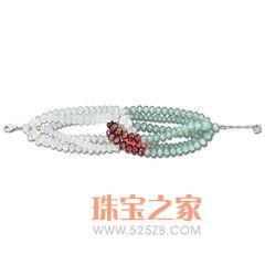 K金人造水晶手链