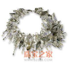人造水晶项链
