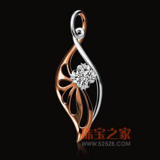 玲珑心G02416吊坠钻石项坠