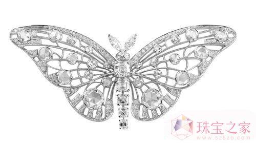 天然水晶胸针